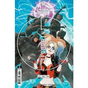 Batman/Fortnite (2021) #6 Mikel Janin Cover Sealed Batarang Axe Code