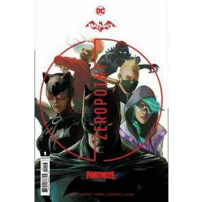 Batman/Fortnite (2021) #1 Third Printing Variant Cover Sealed Harley Quinn Skin