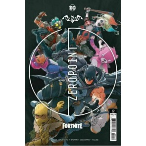 Batman/Fortnite (2021) #'s 1 2 3 4 5 6 Complete Set Sealed with Codes