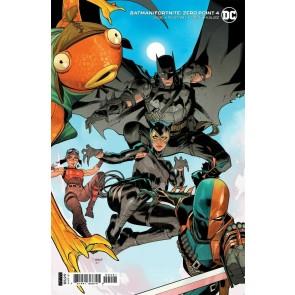 Batman/Fortnite (2021) #4 Dan Mora Variant Cover Sealed Deathstroke Glider Code