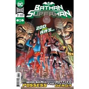 Batman/Superman (2019) #7 NM (9.4) Nick Derington Regular Cover A