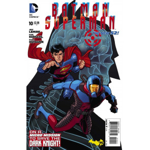 BATMAN/SUPERMAN (2013) #10 VF/NM THE NEW 52!
