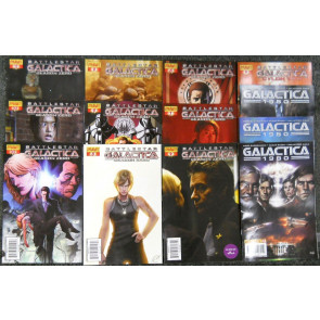 BATTLESTAR GALACTICA 1980 ORIGINS ZAREK LOT OF 26 BOOKS DYNAMITE ENTERTAINMENT