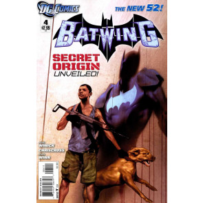 BATWING (2011) #4 VF+ -VF/NM THE NEW 52!