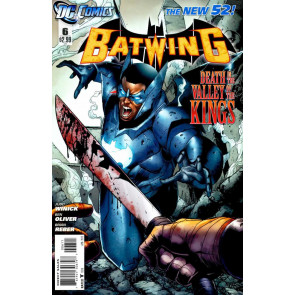 BATWING (2011) #6 VF+ -VF/NM THE NEW 52!