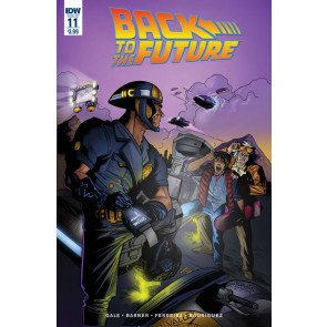 Back to the Future (2016) #11 VF/NM IDW