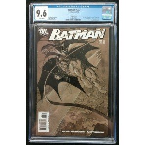 Batman (1940) #655 CGC 9.6 1st Appearance Damian Cameo (2019913001) White Pages
