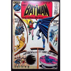 BATMAN (1940) #228 FN (6.0) (G-79) giant