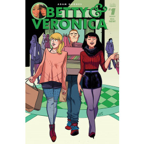 Betty & Veronica (2016) #1 VF/NM Erica Henderson Cover M Adam Hughes Archie