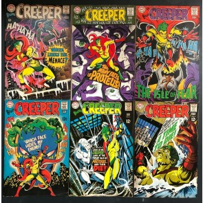 Beware The Creeper (1968) #1 2 3 4 5 6 FN (6.0) complete set Ditko Kane