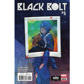 Black Bolt (2017) #5 VF/NM Inhumans