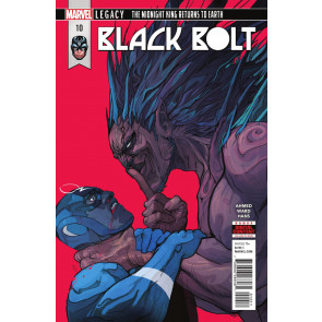 Black Bolt (2017) #10 VF/NM Inhumans