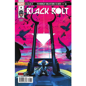 Black Bolt (2017) #8 VF/NM Inhumans