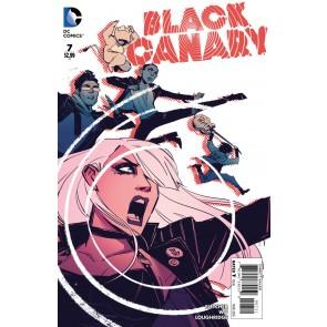 BLACK CANARY (2015) #7 VF/NM