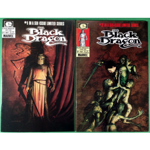 Black Dragon (1985) 1 2 3 4 5 6 complete set Chris Claremont John Bolton Epic