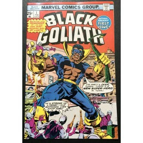 Black Goliath (1976) #1 2 3 4 5 VF+ (8.5) complete set Bill Foster