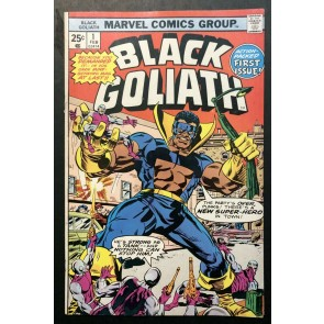 Black Goliath (1976) #1 2 3 4 5 FN/VF (7.0) complete set Bill Foster