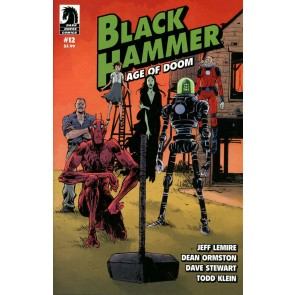 Black Hammer: Age of Doom (2018) #12 VF/NM Paul Pope Cover Dark Horse Comics