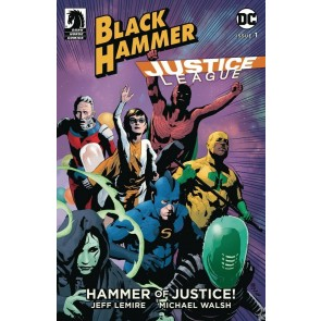 Black Hammer Justice League (2019) #1 NM (9.4) Andrea Sorrentino cover B