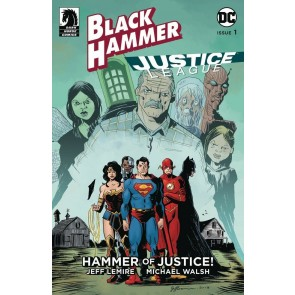 Black Hammer Justice League (2019) #1 NM (9.4) Jeff Lemire cover E