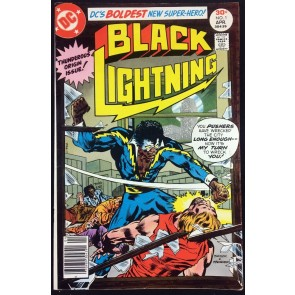 Black Lightning (1977) #1 FN/VF (7.0) Origin & 1st appearance of Black Lightning