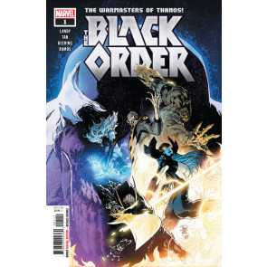 Black Order (2019) #1 VF/NM (9.0) or better The Warmasters of Thanos