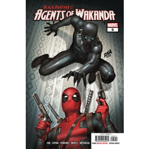 Black Panther and the Agents of Wakanda (2019) #5 VF/NM Deadpool Appearance