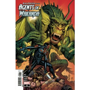 Black Panther and the Agents of Wakanda (2019) #8 VF/NM Fing Fang Foom