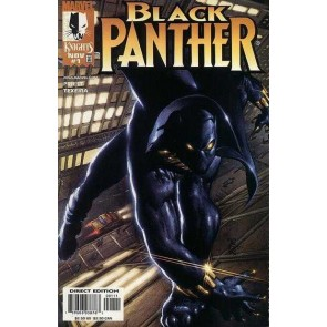 Black Panther (1998) #1 VF/NM-NM Texeira Cover Marvel Knights Christpher Priest