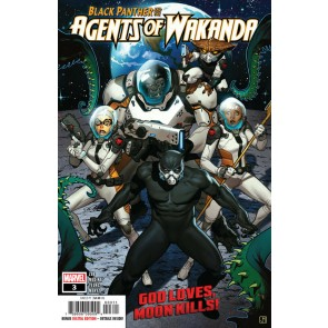 Black Panther and the Agents of Wakanda (2019) #3 VF/NM