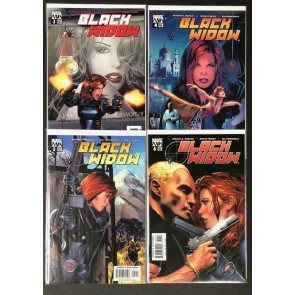 "Black Widow (2004) #""s 3 4 5 6 Near Complete VF/NM Set Marvel Knights"
