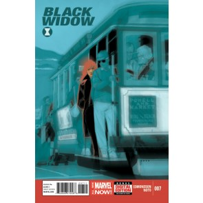 Black Widow (2014) #7 VF/NM Phil Noto Regular Cover