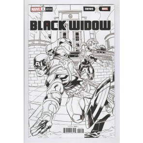 Black Widow (2020) #1 VF/NM-NM Ed McGuinness Fortnite Sketch Variant Cover