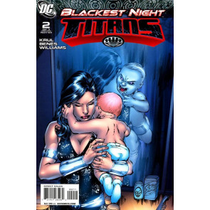 BLACKEST NIGHT: TITANS #'s 1, 2, 3 NM GREEN LANTERN