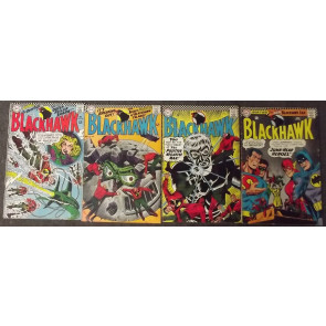 BLACKHAWK #'s 221-273 COMPLETE RUN OF 53 CONSECUTIVE BOOKS 1966-1984
