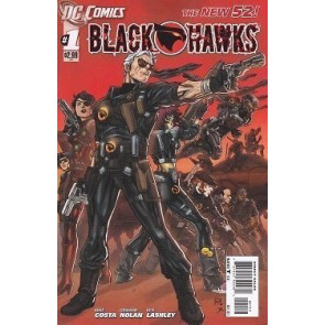 BLACKHAWKS #1 NM 2ND PRINTING THE NEW 52!