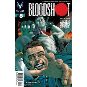 BLOODSHOT (2012) #5 NM COVER B VALIANT