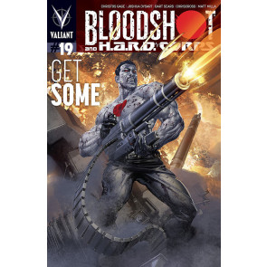 BLOODSHOT AND H.A.R.D. CORPS (2014) #19 VF+ - VF/NM COVER A VALIANT