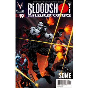 BLOODSHOT AND H.A.R.D. CORPS (2014) #19 VF+ - VF/NM COVER B VALIANT