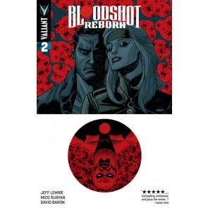 BLOODSHOT REBORN (2015) #2 VF/NM DAVE JOHNSON COVER B VALIANT