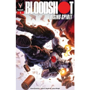 Bloodshot Rising Spirit (2018) #5 VF/NM Felipe Massafera Cover Valiant