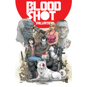 Bloodshot Salvation (2017) #12 VF/NM Renato Guedes Jeff Lemire Valiant