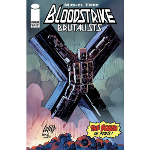 Bloodstrike (2018) #24 VF/NM Rob Liefeld Uncanny X-men #251 Cover swipe Pouch