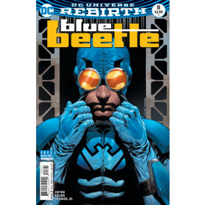 Blue Beetle (2016) #8 VF/NM Cully Hamner Cover DC Universe