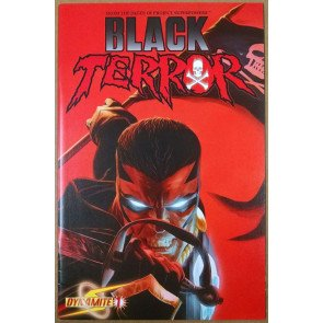 BLACK TERROR #1 FN/VF - VF- DYNAMITE PROJECT SUPERPOWERS ROSS