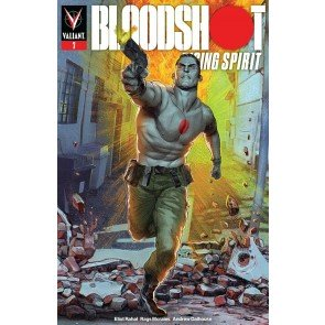 Bloodshot Rising Spirit (2018) #7 VF/NM Renato Guedes Cover Valiant
