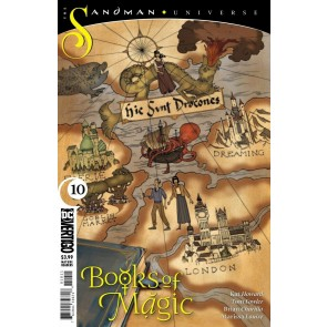Books Of Magic (2018) #10 VF/NM Sandman Universe DC Vertigo