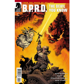 B.P.R.D.: The Devil You Know (2017) #7 VF/NM Mike Mignola