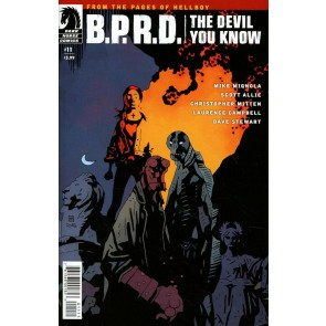 B.P.R.D. The Devil You Know (2017) #11 VF Mignola Dark Horse Comics