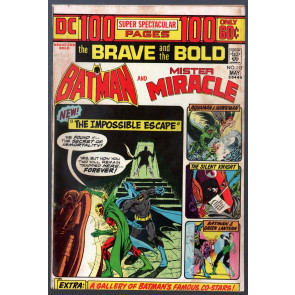 Brave and the Bold (1955) #112 VG/FN (5.0) Batman & Mr. Miracle 100pg Giant